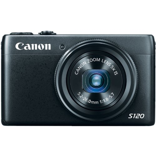 Best vlogging camera inexpensive and cheap - Canon PowerShot S120 12.1 MP CMOS Digital Camera