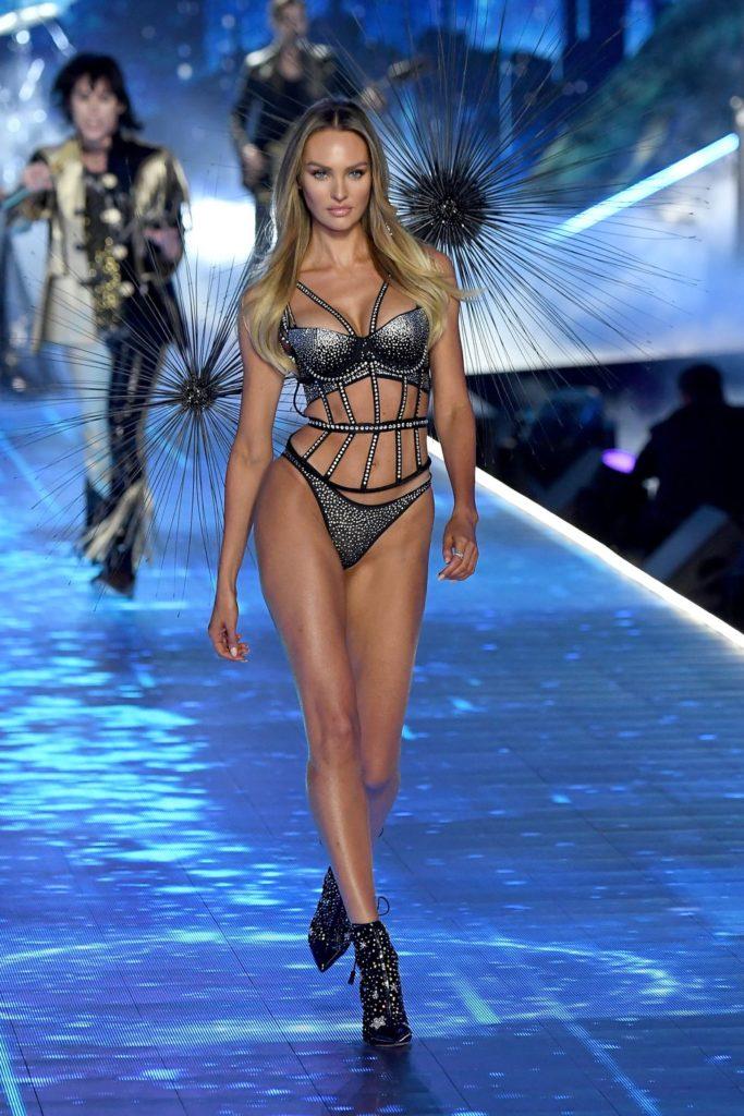Victoria's Secret Fashion show 2018 - victoria secret - fashion show - victoria secret fashion show - victorias secret fashion show - victoria secret outfits  - candice-swanepoel-walks-the-runway-during-the-2018-news-photo
