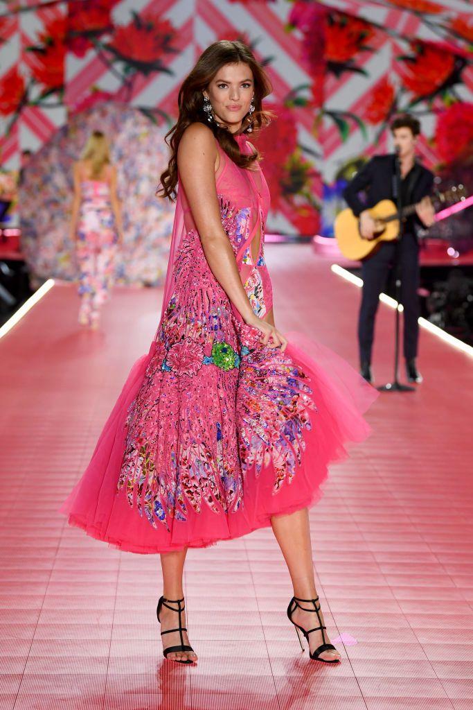 Victoria's Secret Fashion show 2018 - victoria secret - fashion show - victoria secret fashion show - victorias secret fashion show - victoria secret outfits - sofie-rovenstine-walks-the-runway-during-the-2018-victorias-news-photo