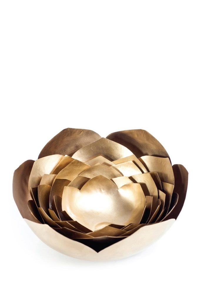 Brass Lotus home decor