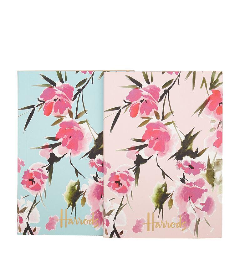 Harrods Blossom Notebooks (Set of 2)