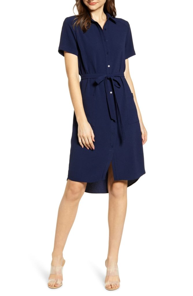 Everyday High:Low Shirt Dress - RACHEL PARCELL