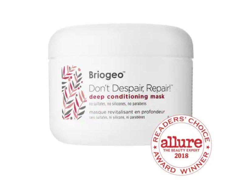 BRIOGEO Don't Despair, Repair!™ Deep Conditioning Mask- best for short hairstyles