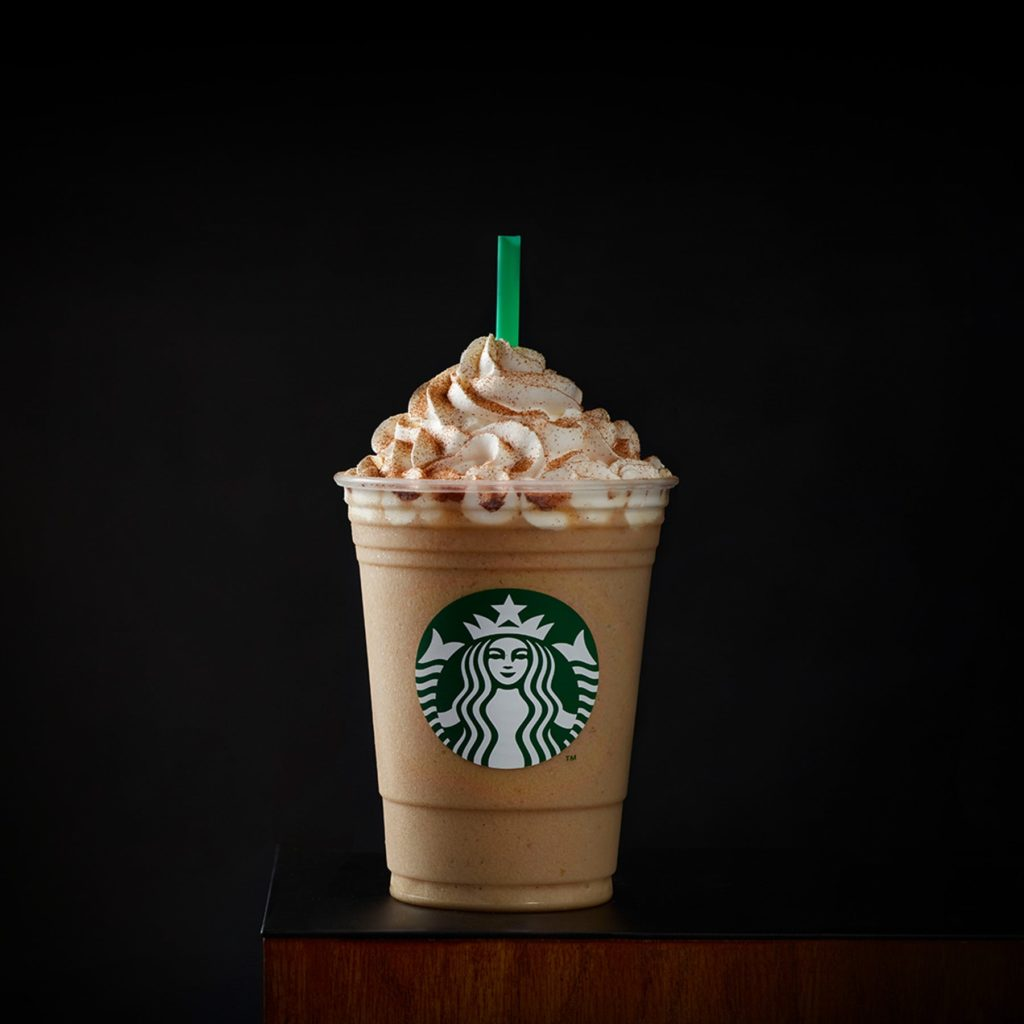 How to order Cinnamon Roll Frappuccino from starbucks