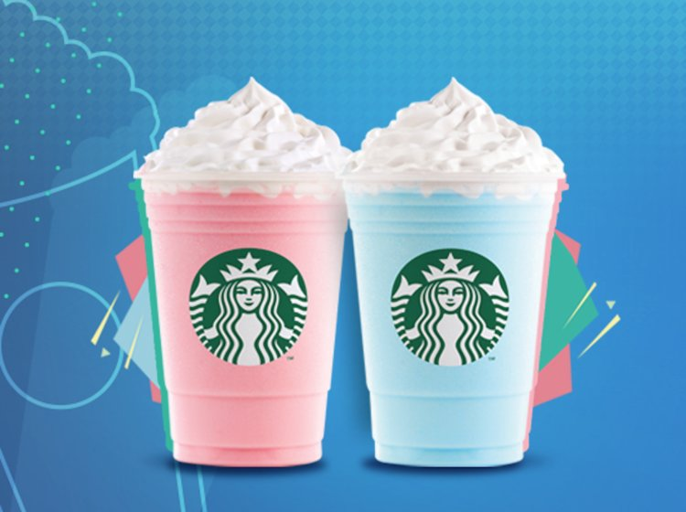 How to order Cotton Candy Frappuccino from starbucks
