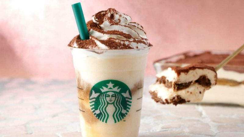 How to order Tiramisu Frappuccino from starbucks