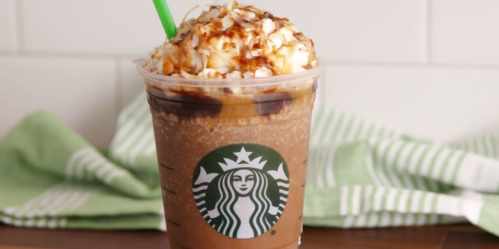 How to order Samoa Frappuccino from starbucks